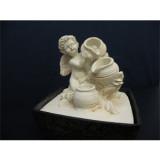 Fontaine ange trois pots
